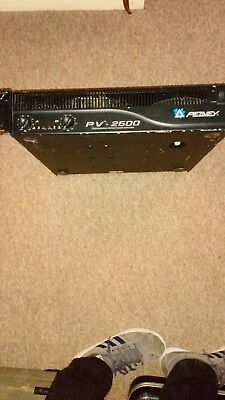 Peavey rack 2000 watt Power amp in working order great amp pa dj