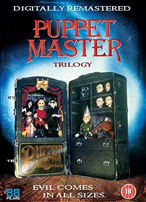 Puppet Master Trilogy [DVD] -  CD 84VG The Fast Free Shipping