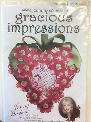 Jenny Haskins for Elegant Embroidery Designs - Gracious IMpressions