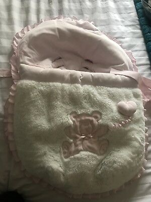 Baby car Seat liner And Cosytoes By Artisania (Spain)