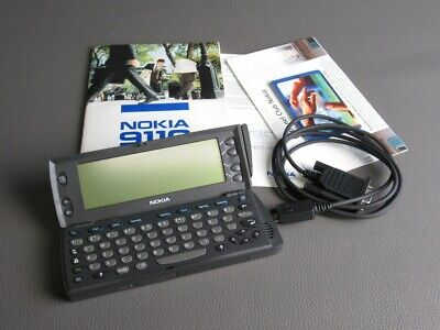 Nokia 9110 Vintage Phone Mobile Phone Communicator No Cable Power Supply