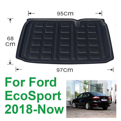 For Ford EcoSport 2017 2018 2019 Car Rear Trunk Tray Boot Liner Cargo Mat Floor