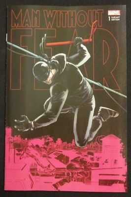 Man Without Fear #1 Variant Set Lot of 2 Daredevil Main Cover + Connecting NM