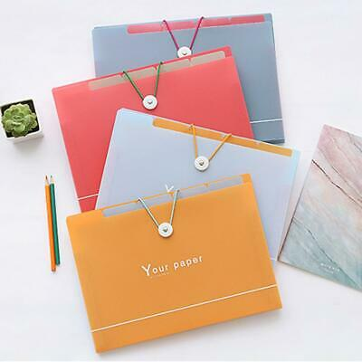 Pockets Expanding File Folder File Organizer Hanging File Folder Label Tab H