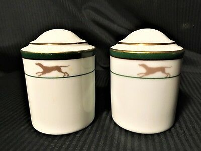 Set Noritake ROYAL HUNT 3930 Salt Pepper Shakers EX