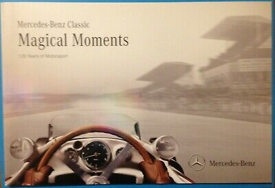 Mercedes-Benz Classic Magical Moments (120 years of Motorsport) 36 page booklet