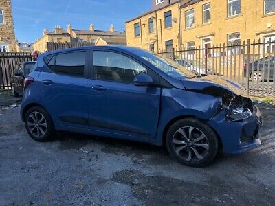 2018 18 Reg Hyundai I10 Premuim Damaged Salvage Starts And Drives