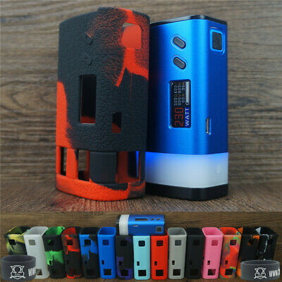 Silicone Case for Sigelei Fuchai GLO 230W & ModShield Tank Band Protective Cover