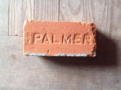Antique Brick Stamped ***** Palmer   *******