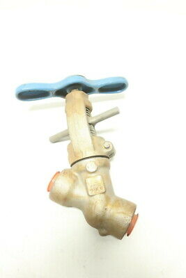 Conval 12G2-Q Manual Steel Socket Weld Globe Valve 1/2in