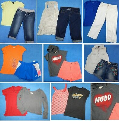 Nice Clean lot 16pc girls Spring Summer clothes Sz 16-18~Justice Limited Mud3s18