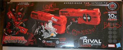 Nerf Rival Deadpool Kronos XVIII-500 Dual Pack Free Shipping