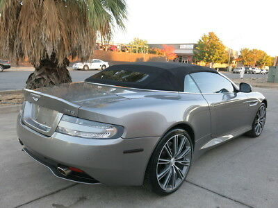 2014 Aston Martin DB9 Convertible 5.9L V12/510hp 2014 Aston Martin DB9 db Convertible damaged rebuildable salvage Low Reserve 14