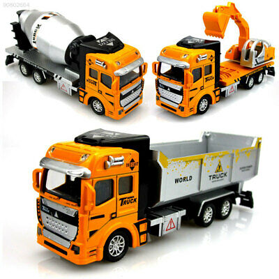 2EC1 Novelty GBD Engineering Vehicle Diecast Truck Model Car Container