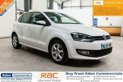 2010 60 Volkswagen Polo 1.2 Moda 5D *low Miles - Ideal First Car* White