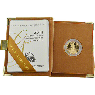 2015-W American Gold Eagle Proof (1/4 oz) $10 in OGP
