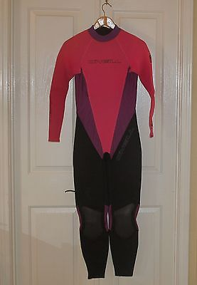 a4577aafe9 Womens ONEILL 2mm Neoprene Lycra Wet Suit - Size 10 - Scuba Diving Snorkel