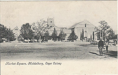 Market Square, Middleburg, CAPE COLONY, South Africa