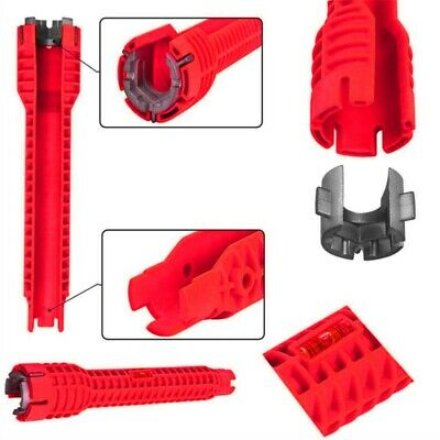 Faucet & Sink Installer Multitool Water Pipe Socket Wrench Plumbers Spanner Well