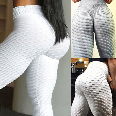 Women Breathable Sweat-absorbent Yoga Pants Fitness Slim Skinny Leggings LG