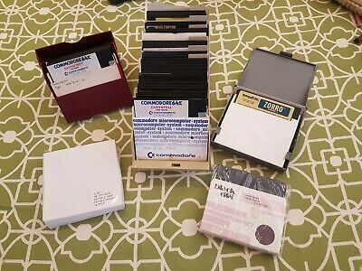 Commodore 64 Bulk Floppies - 120+ Various Disks some Brand New