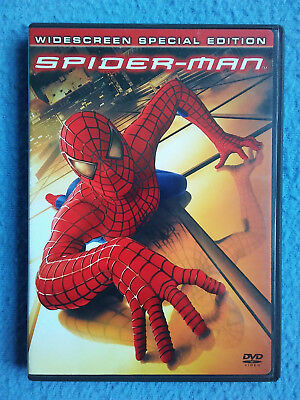 SPIDER-MAN Widescreen Special Edition DVD Movie