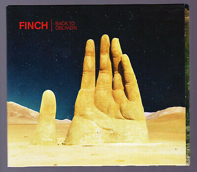 LIKE NEW CD Finch - Back To Oblivion