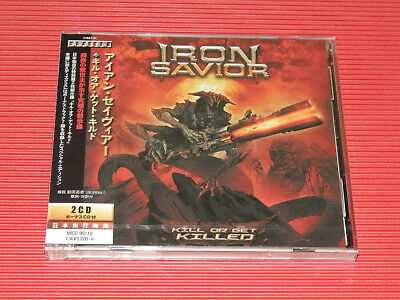 2019 Iron Savior Kill Or Get Killed  Japan 2 Cd Edition