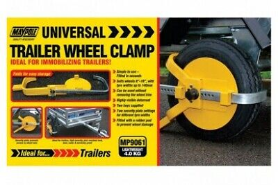 "MP9061 8""-10"" Trailer Wheel Clamp"