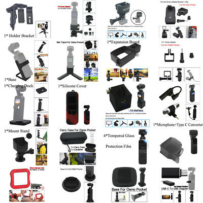 Original Full Set Accessories For DJI Osmo Pocket Handheld Gimbal Camera AU Ship