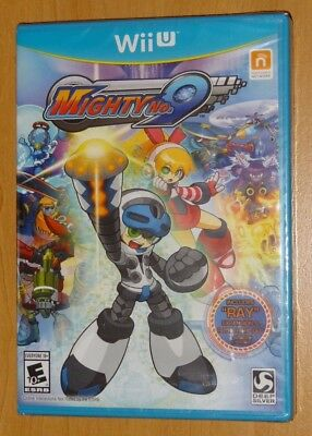MIGHTY NO  9 Nintendo Wii U Video Game Used Complete with