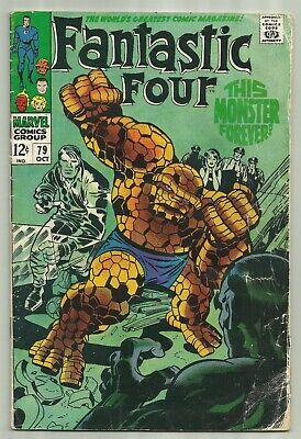 Fantastic Four #79 1968 Marvel Fan Requested Romantic Pinup