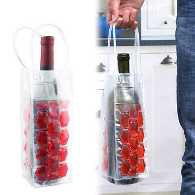 Wine Bottle Ice Bag Party Picnic Drink Beer Cooler Holder Carrier Cooling Tool