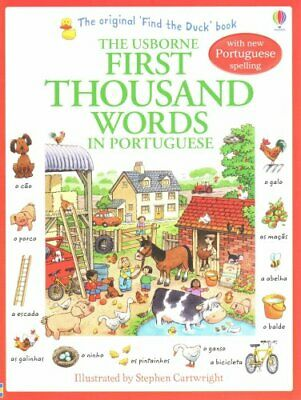 First Thousand Words in Portugese by Heather Amery 9781409566120
