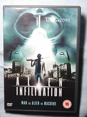 Dvd Sale**alien Infiltration**exc Cond!****sci-Fi**jeremy London*roddy Piper**