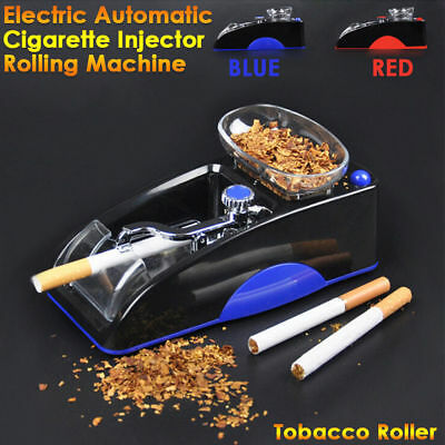 Electric Automatic Cigarette Injector Rolling Machine Tobacco Maker Roller UK