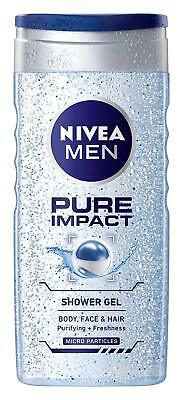 Pure Impact Shower Gel for Men 250 ml by Nivea