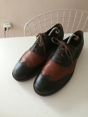 a308c37ad9a WOLVERINE 1000 MILE Wingtip Brogues Shoes Budapester Thatcher Oxford 44