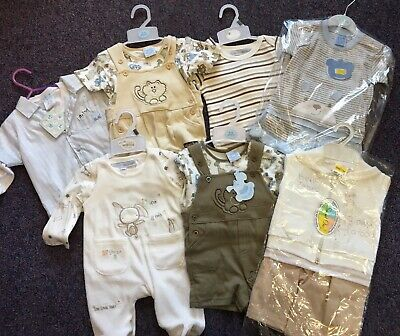 Baby Boys Clothes Bundle 3-6 months 5 Outfits & 2 Tops