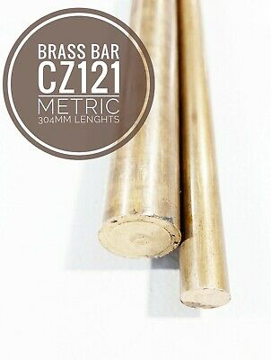 Brass Bar Round CZ121 - 5mm To 16mm Dia 304mm Lengths