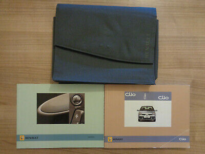 Renault Clio Owners Handbook Manual and Pack 06-09
