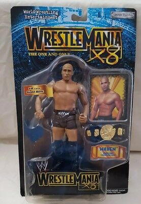 Jakks Pacific WRESTLE MANIA 14 STONE COLD STEVE AUSTIN  *NEW* #C4-G5