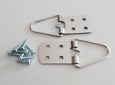 Heavy Duty 4 Hole Strap Hangers for Pictures and Mirrors - Great Quality