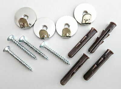 Picture Hanging Kit With Screws & Plugs - Pictures & Mirrors - 20KGS - Pack of 4