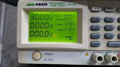 Iso-Tech Ips-603 Programmable Power Supply (R6S9.6)