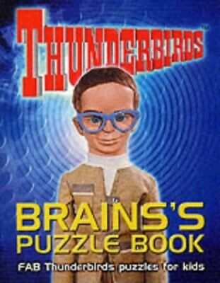 Brains's Puzzle Book: FAB Thunderbirds Puzzles for Kids Paperback Book The Cheap