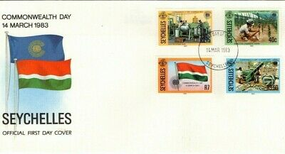 1983 Seychelles - Commonwealth Day Fdc From Collection B22