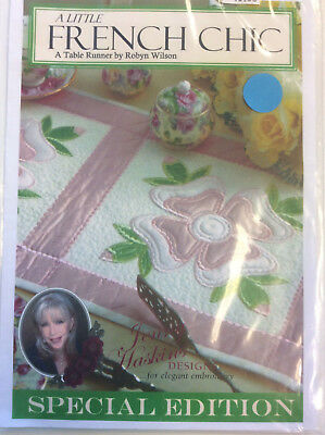 Jenny Haskins for Elegant Embroidery Designs - A Little French Chic Designs