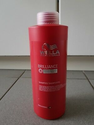 Wella Professionals Brilliance fine/normal Shampoo 1000 ml