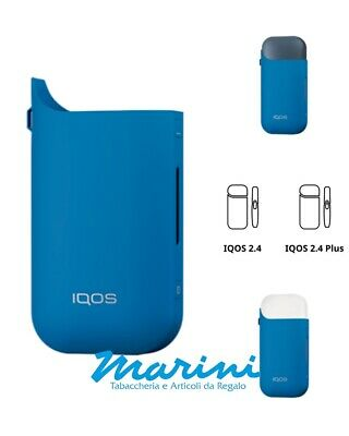 Cover Slim IQOS-2.4 normale e 2.4 Plus - Colore Blu Blue